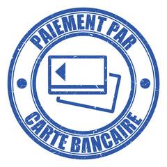 Logo paiement par carte bancaire.