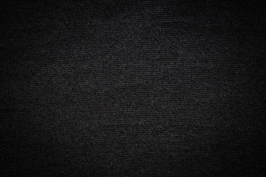 Black color t-shirt texture