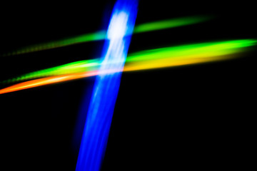 Abstract  blurred background of blue,green,yellow colors