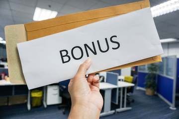 concept of employee bonus