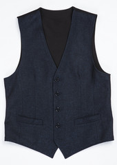 waistcoat isolated on white background. clipping path