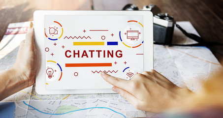 Chatting Communication Message Online Concept