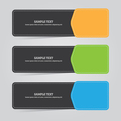 Colorful Bookmarks or Progress Template