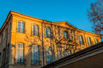 Bâtiment du centre d'art Caumont à aix