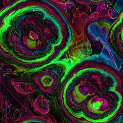 Computer generated fractal. Fractal art background for creative design.