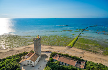Ile de Re - The west Point of the Island, Charente Maritime, Fra