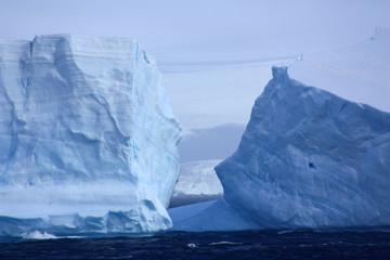 Door stickers Antarctic Antarktis- Eisberg