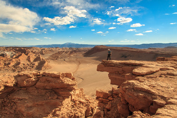 Valley of the Moon. Desert of Atacama, Chile.