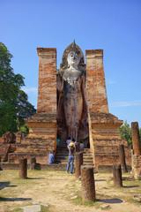 Fotomurales - sukhothai historical park in Thailand