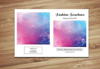 Grid Style Fashion Lookbook Layout 3
