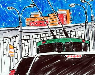 Sketch Urban Transport