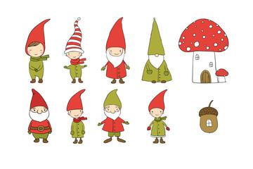 Bilder und videos suchen gnome - Clipart weihnachtswichtel ...