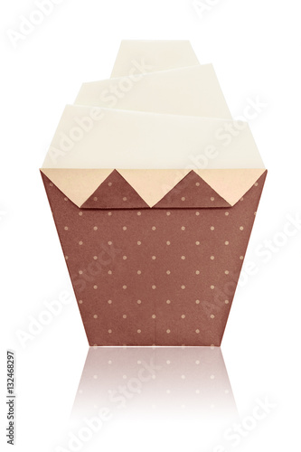 Origami Art Cupcake Stock Photo And Royalty Free Images On Fotolia