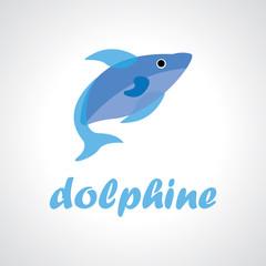 dolphine vector logo