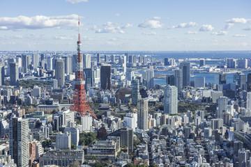 東京港区の街並み