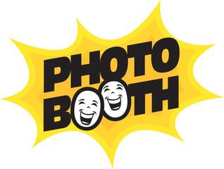 Starburst photo booth design element