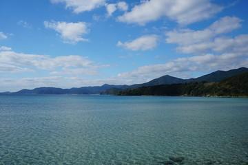 長崎県福江島の美しい海岸