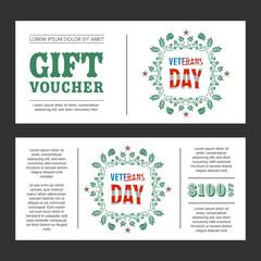 Gift voucher Veterans Day