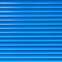 Venetian blinds. Blue toned.