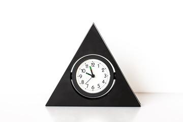 Retro style alarm clock.