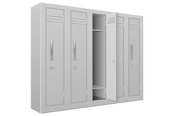 School gym lockers. Interior element
