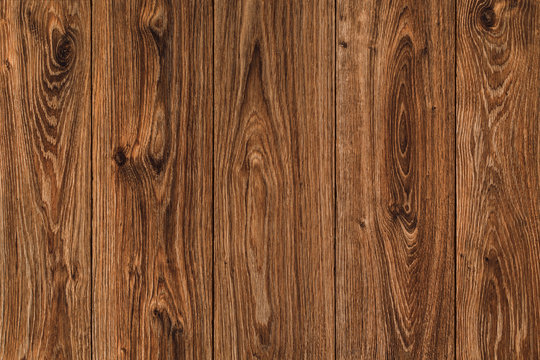 Wood Texture Plank Background, Brown Wooden Timber, Old Textured Hardwood Wall
