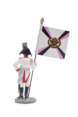 tin soldier  General's adjutant, computed from the cavalry, 1807