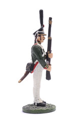 tin soldier The non-commissioned officer of the Life Guards Sapp
