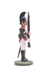 tin soldier  squaddie Life Guards Dragoon Regiment, 1812 Isolate