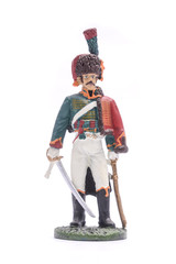 tin soldier squaddie Regiment Mounted huntsmen Imperial Old Guar