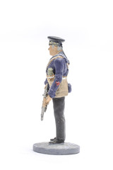 Tin Soldier Sailor, Navy 1943-45 USSR isolated on white