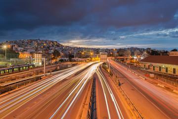 Faliro twilight , Piraeus
