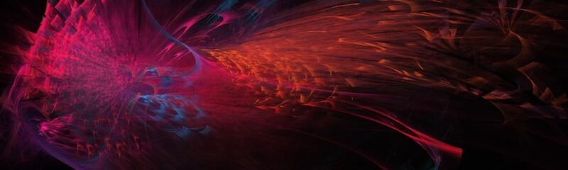 Bunter kreativer Hintergrund - Feuervogel
