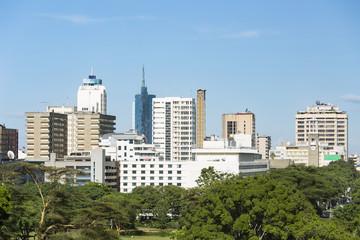 Wall Mural - Nairobi Skyline Highrises, Kenya