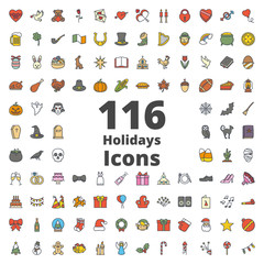 Holidays Icon Colored
