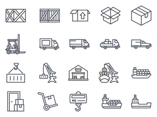 Delivery Icon Outlined