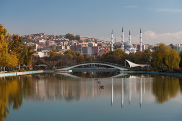 Hergelen square mosque and genclik (youth) park