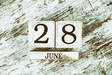 Haziran 28th Takvim