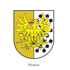 Phoenixor or heraldic