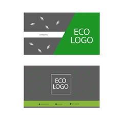 eco logo card