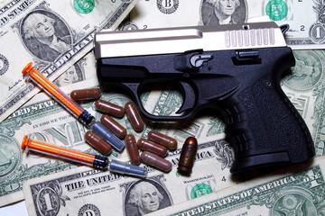 Drug addiction - drug market - mafia methods