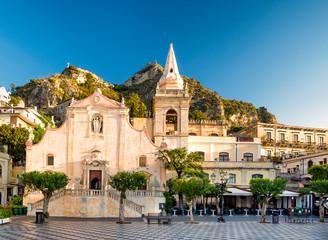 Church of San Giuseppe in Taormina Fototapete