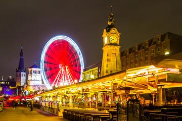 Ausblick auf die Promenade in Düsseldorf