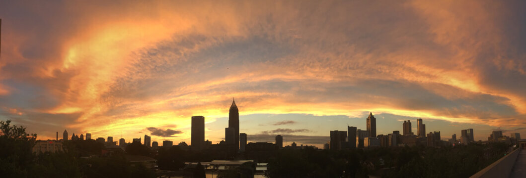 Atlanta Orange Splash Sunrise