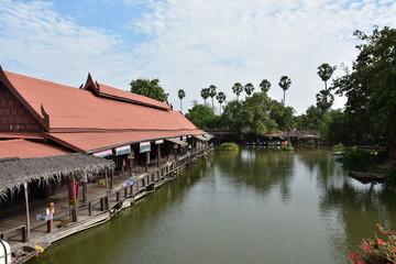 floating market in thailand