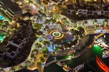 Dubai Marina Walk Top View