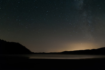 Milky-way over a lake