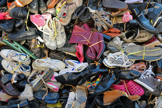 used shoes collection for charity