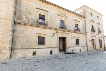 Palacio de las cadenas, Ubeda, Jaen, Andalucía, España