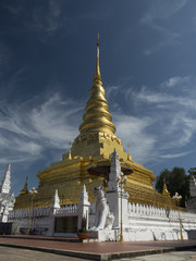 The Pagoda in Wat Phra That Chae Haeng,Nan Province